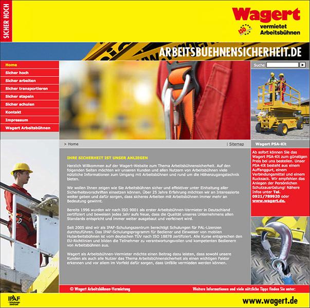 Arbeitsbühnensicherheit Wagert, Bayreuth