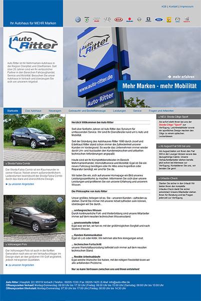 Auto Ritter, Vorbach