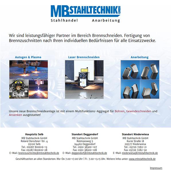 MB Stahltechnik GmbH, Selb